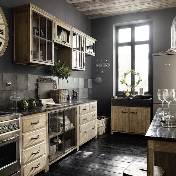 drewniana kuchnia kokopelia design kokopelia design. Black Bedroom Furniture Sets. Home Design Ideas
