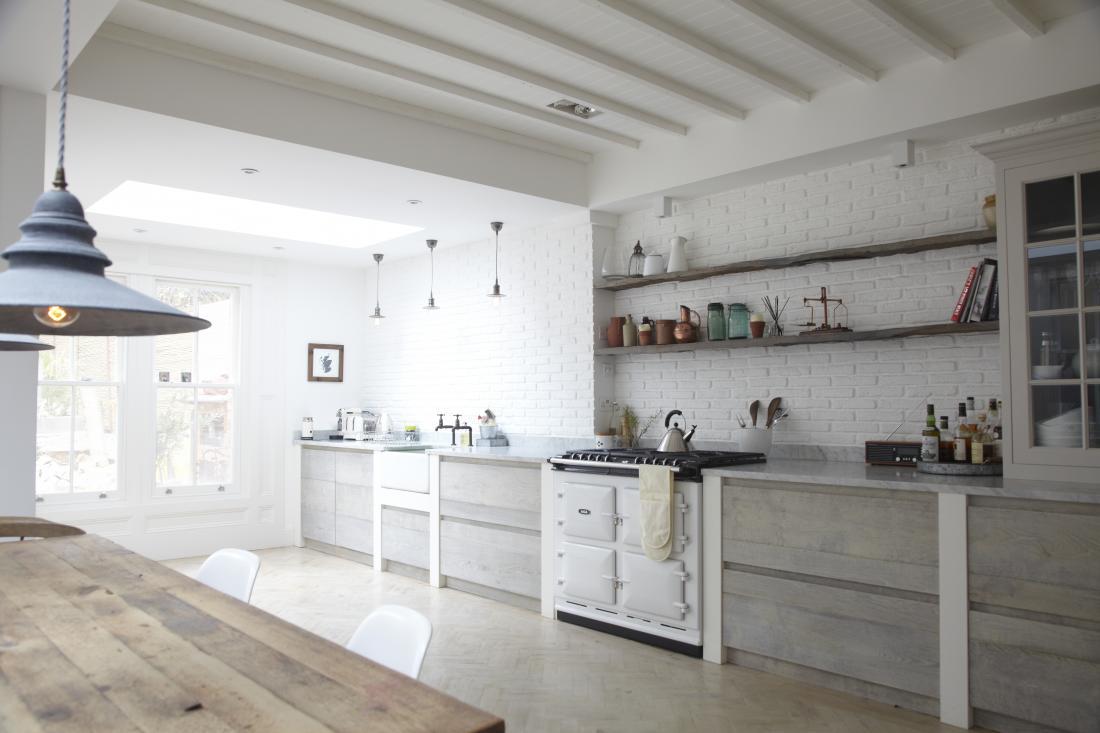Wood Floor Lamp Scandinavian Style