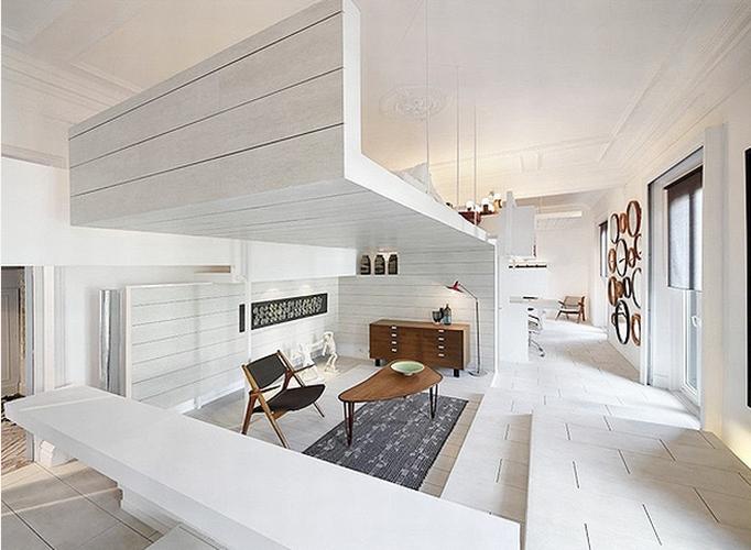 Woonkamer En Keuken Ineen : Antresola w mieszkaniu - kokopelia design ...
