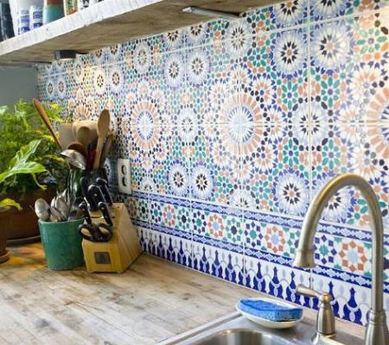 Moroccan Tile Decals