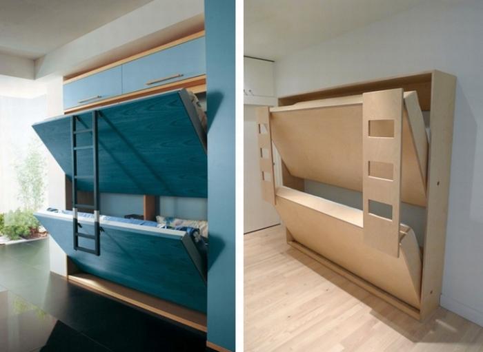 Półkotapczany Składane łóżka Kokopelia Design Kokopelia Design