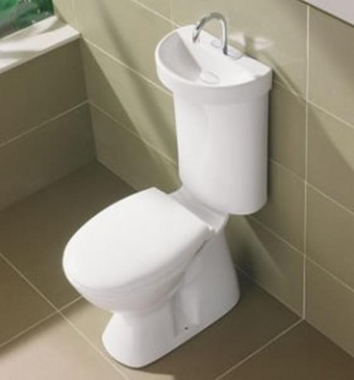 Umywalka po czona ze sp uczk kokopelia design kokopelia design - Foto de toilette ...