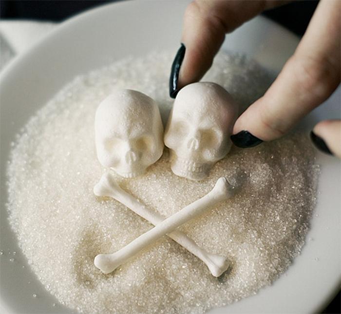 طرح جالب هشداری برای مصرف قند و شکر