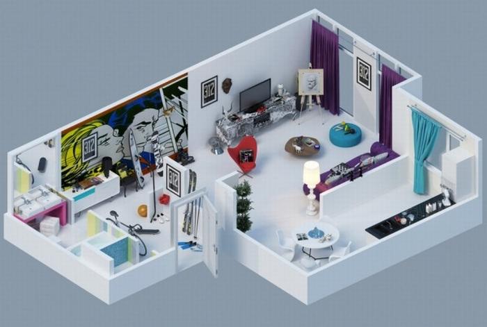 Wizualizacje Jak Z The Sims Kokopelia Design Kokopelia Design