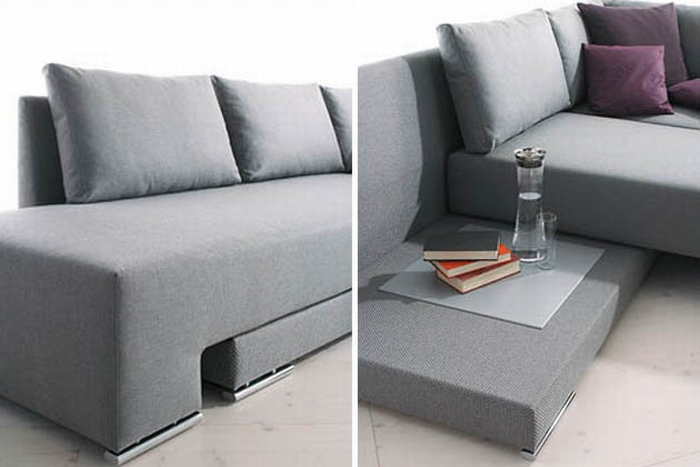 Rozkładana sofa - kokopelia design : kokopelia design
