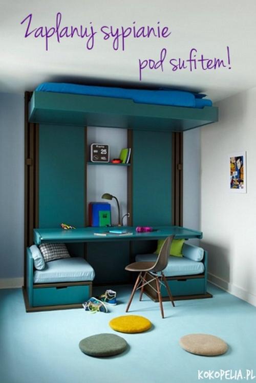 Podnoszone ka kokopelia design kokopelia design - Idee deco chambre ado petit espace ...
