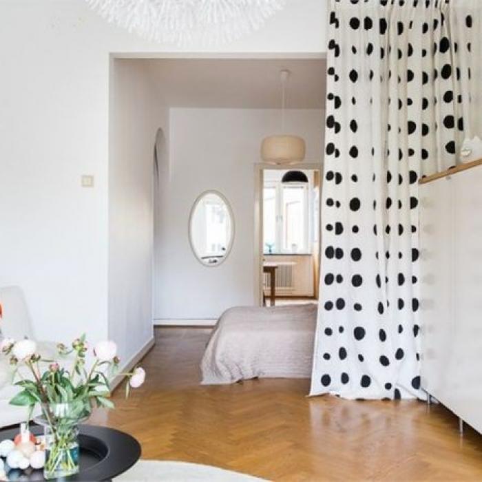 łóżko W Salonie Aranżacje Pomysły Projekty I Rozwiązania