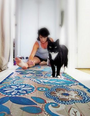 Malowane_podłogi_wzory_wnętrza_inspiracje_kokopelia_0