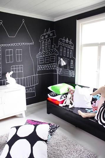 Farba Tablicowa W Sypialni Kokopelia Design Kokopelia