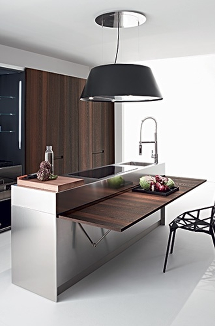 kitchen cabinets space savers składany blat i stoliki ścienne kokopelia design 21206